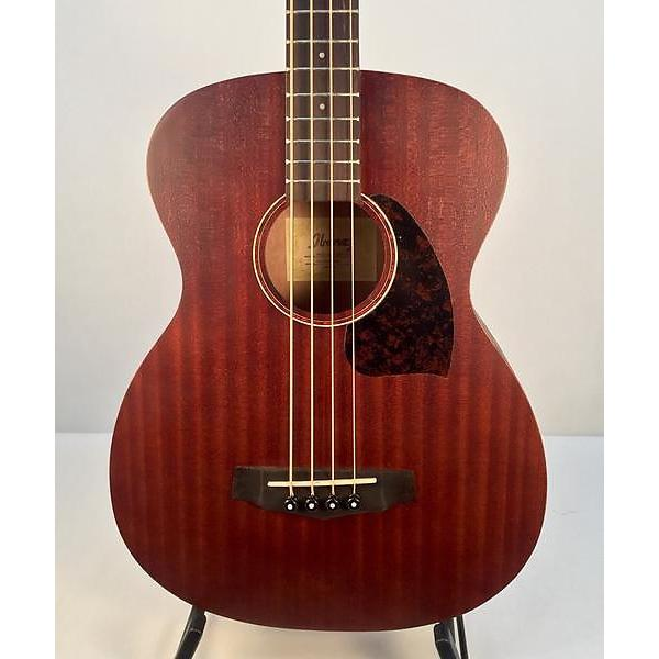 Custom Ibanez PCBE12MHOP Mahogany Open Pore Acoustic Bass #1 image