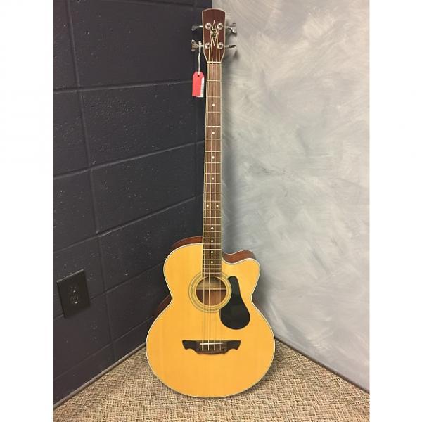Custom Alvarez RB30C Acoustic Electric Bass Guitars natural #1 image