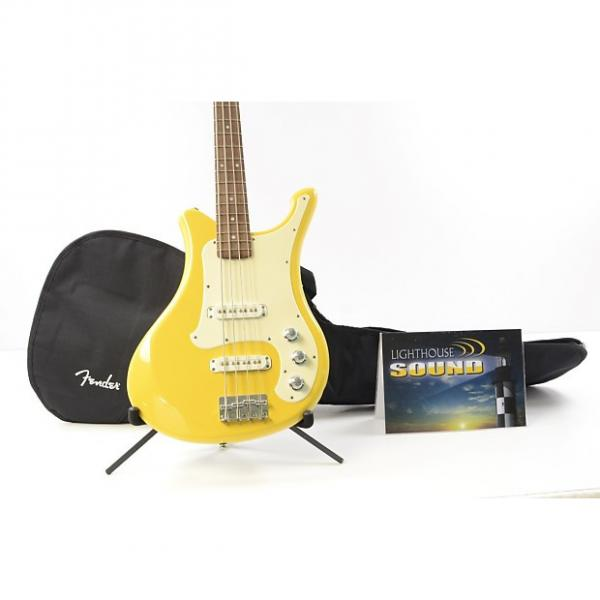 Custom Yamaha SBV-500 Electric Bass Guitar - Yellow Banana Bass w/Gig Bag #1 image