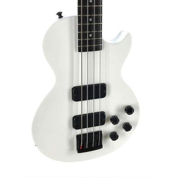 Custom Gibson Les Paul Bass, Arctic White, USA, 1995, OHSC #1 image