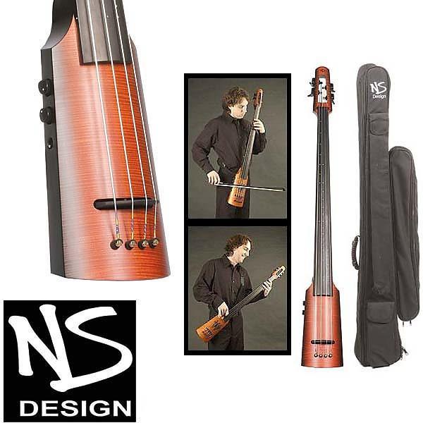 Custom NS Design NXT-4 Omni Electric Bass- Sunburst #1 image