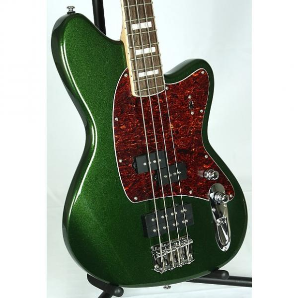 Custom Ibanez TMB-300 TMB300 Talman 4-String Electric Bass Guitar Metallic Forest Metallic Forest #1 image