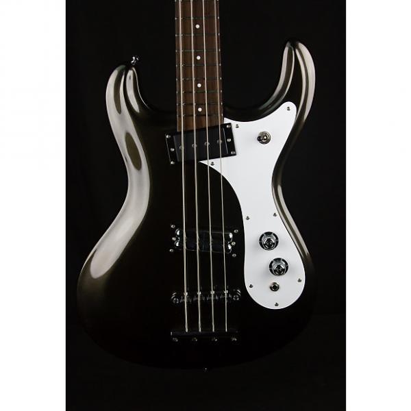 Custom Danelectro D64 Bas Guitar in Black - Factory 2nd #1 image