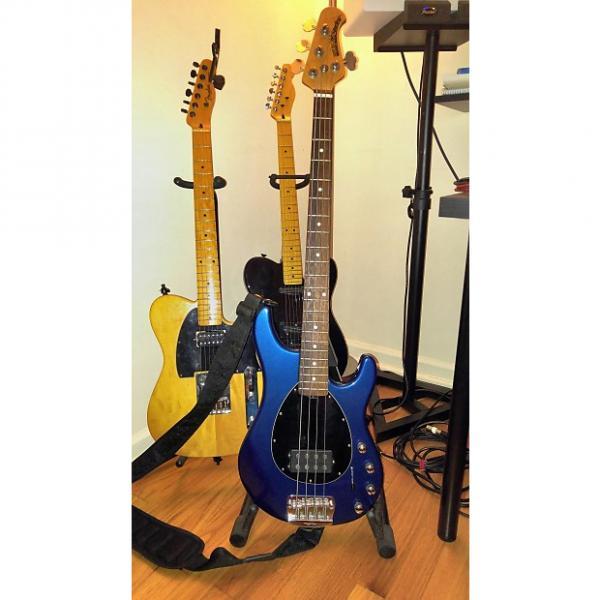 Custom Ernie Ball Music Man Sterling 4 H 2004 Dark Blue Sparkle #1 image