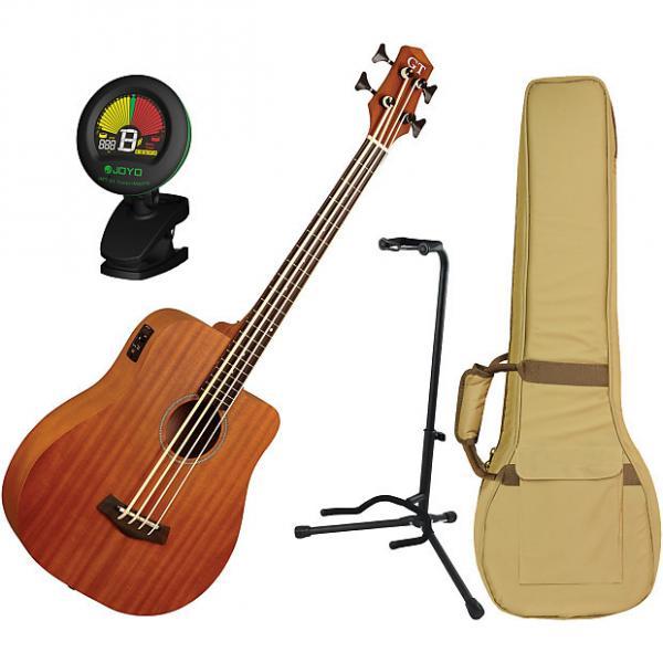 Custom Gold Tone Mbass-25 MicroBass Guitar with Gig Bag Bundle #1 image