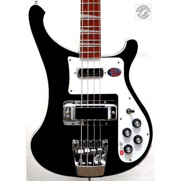 Custom Brand New & Just Delivered in 2017! Rickenbacker 4003 in Jetglo, Made in USA, Free Shipping! #1 image