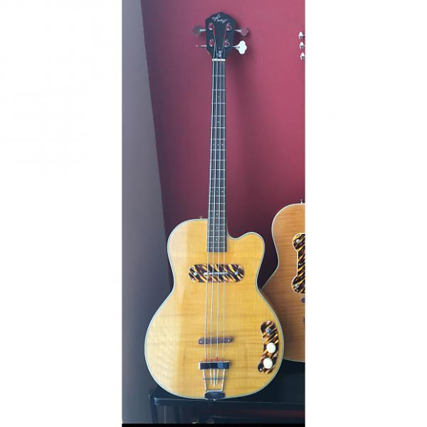 Custom Kay K162V bass guitar USA Handmade Roger Fritz Custom Shop #1 image