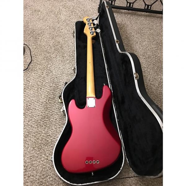 Custom Fender Jazz Bass AM STD 1996 Candy Red #1 image