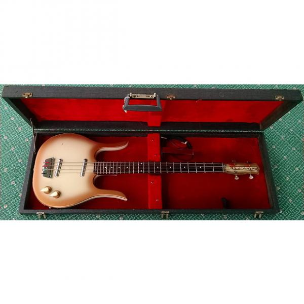 Custom Danelectro Longhorn bass 1964 Copperburst #1 image