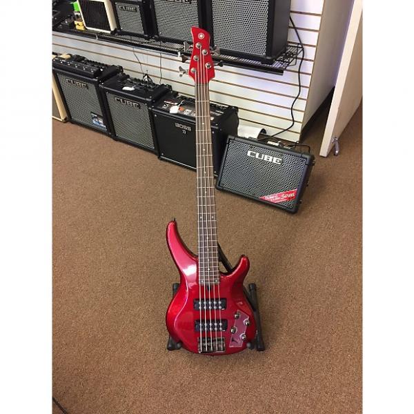Custom Yamaha 2016 TRBX305CAR Candy Apple Red 5-String Bass #1 image