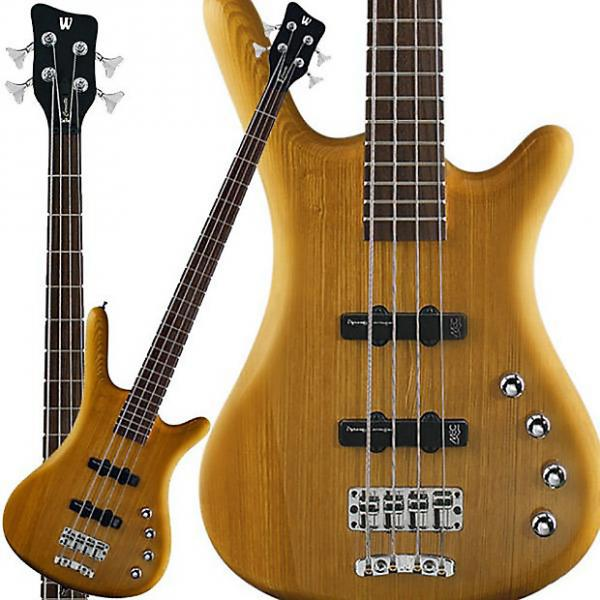 Custom Warwick RockBass Corvette Basic Passive 4-String Bass Fretted Honey Violin Oil #1 image