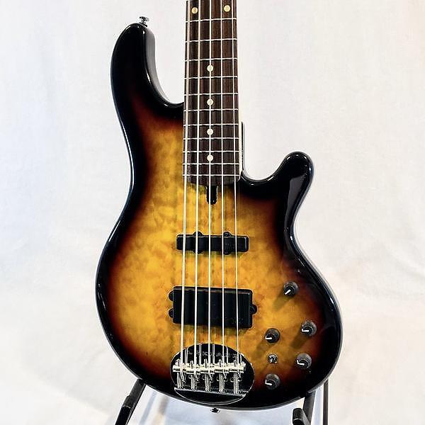 Custom Lakland Skyline Deluxe 55-02 5-String Electric Bass #1 image