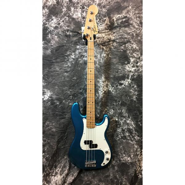 Custom Fender Standard Precision Bass Maple Lake Placid Blue #1 image