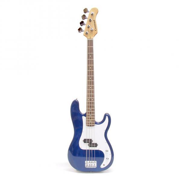 Custom Crestwood Precision Bass Trans Blue #1 image