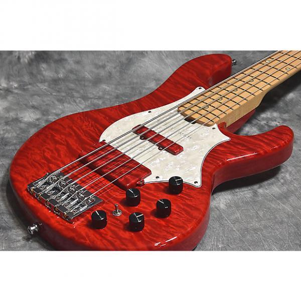 Custom ESP 20th L'Anniversary Bardic See Thru Red #1 image