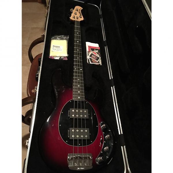 Custom Ernie Ball Music Man StingRay 4 HH Special Blackberry Sunburst #1 image