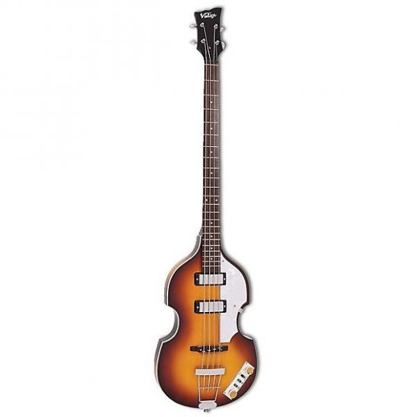 Custom Vintage Reissued Series Violin Bass with Case #1 image