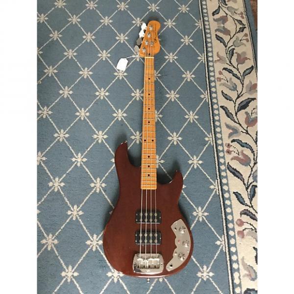 Custom G&L L-2000 Bass Guitar 1982 Natural Mahogany #1 image