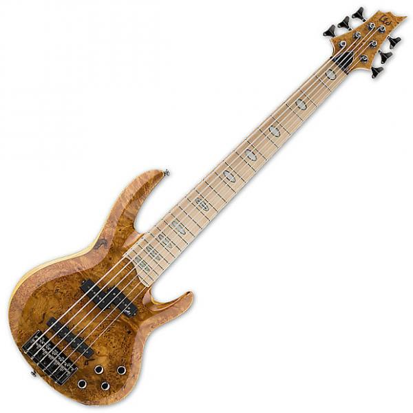 Custom ESP LTD RB-1006BM HN Electric Bass Guitar in Honey Natural Finish B-Stock #1 image