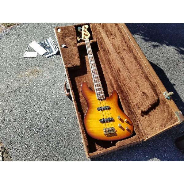 Custom Fender Deluxe Jazz Bass  Sunburst FMT #1 image