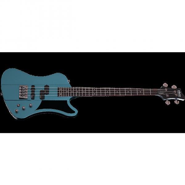 Custom Schecter Sixx Bass Electric Bass Pelham Blue #1 image