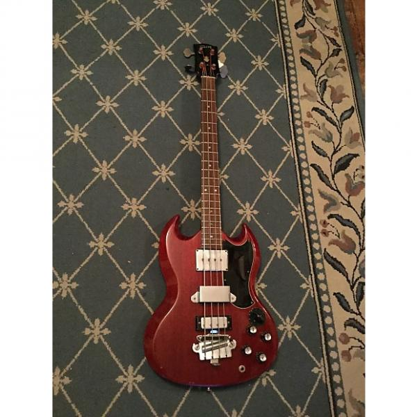 Custom Gibson EB-3 Bass Guitar 1965 Cherry #1 image