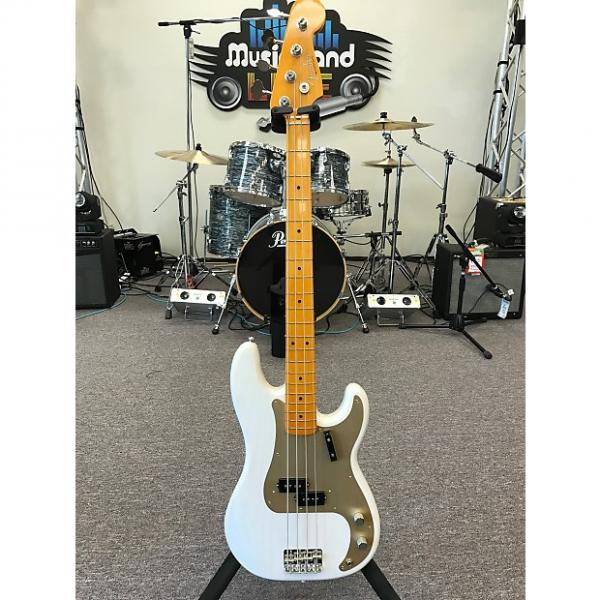 Custom Fender American Vintage '57 Precision Bass White Blonde #1 image