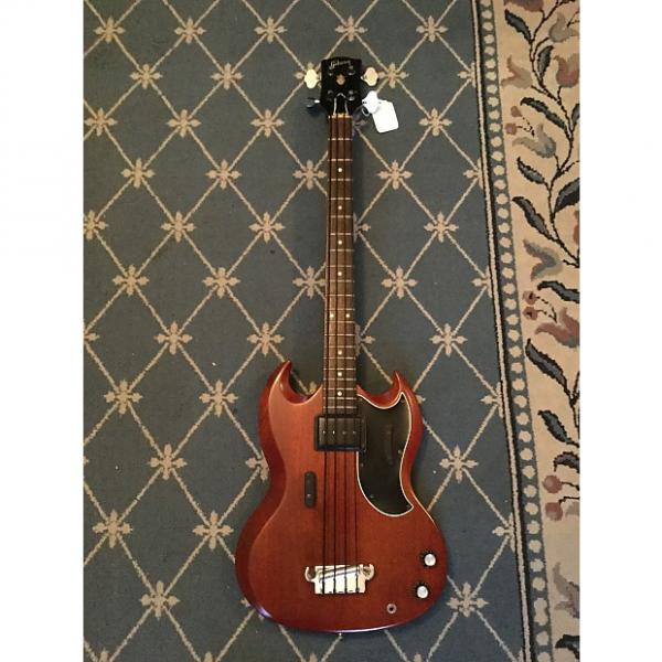 Custom Gibson EB-0 Bass Guitar 1962 Cherry #1 image