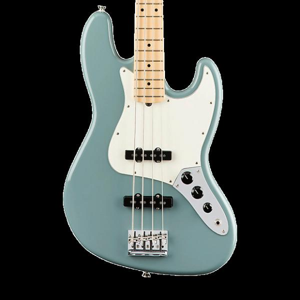 Custom Fender American Professional Jazz Bass with Maple Fingerboard - Sonic Gray with Case #1 image