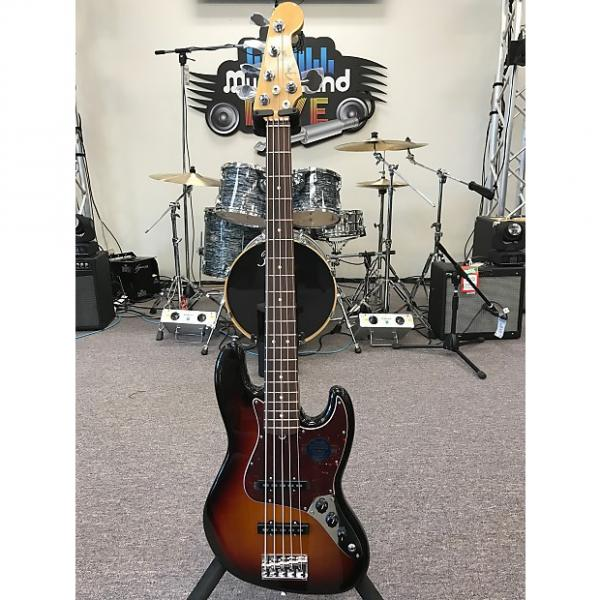 Custom Fender American Standard Jazz Bass V 2016 3 Color Sunburst #1 image