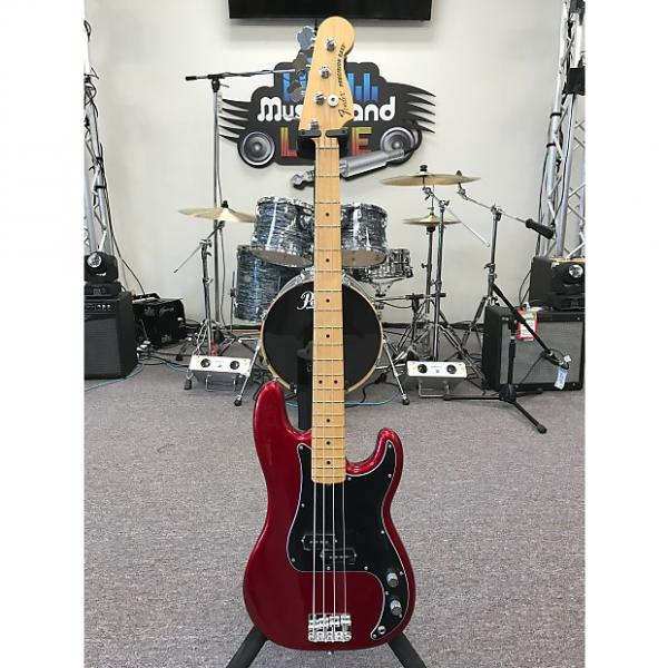 Custom Fender American Special Precision Bass 2011 Candy Apple Red #1 image