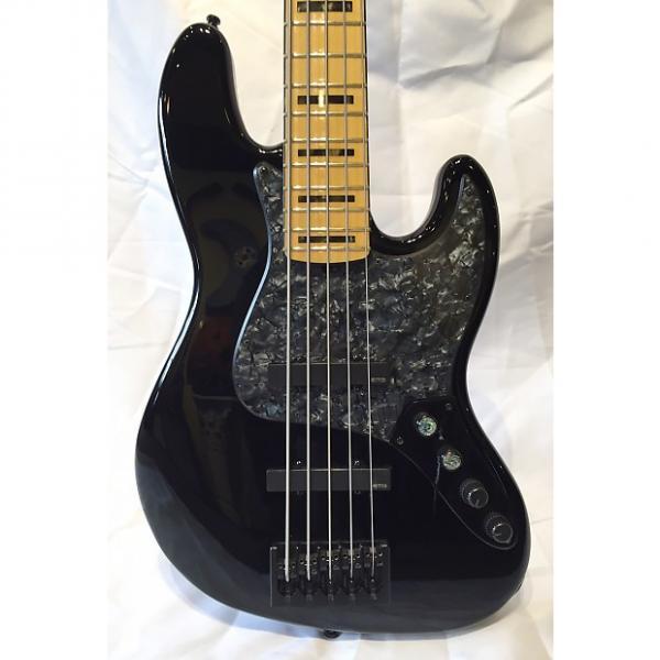 Custom 2014 Fender American Deluxe Jazz Bass V 5-String w/ EMGs #1 image