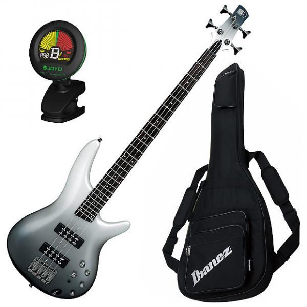Custom Ibanez SR300E PFM 4-String Electric Bass Guitar Bundle #1 image