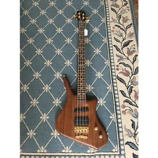 Custom Warwick Dolphin Pro I Bass Guitar 2002 Natural #1 image