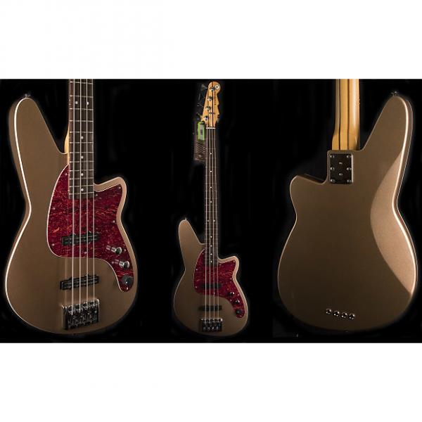 Custom Reverend Justice Lakeshore Gold 4-String Bass Guitar #1 image