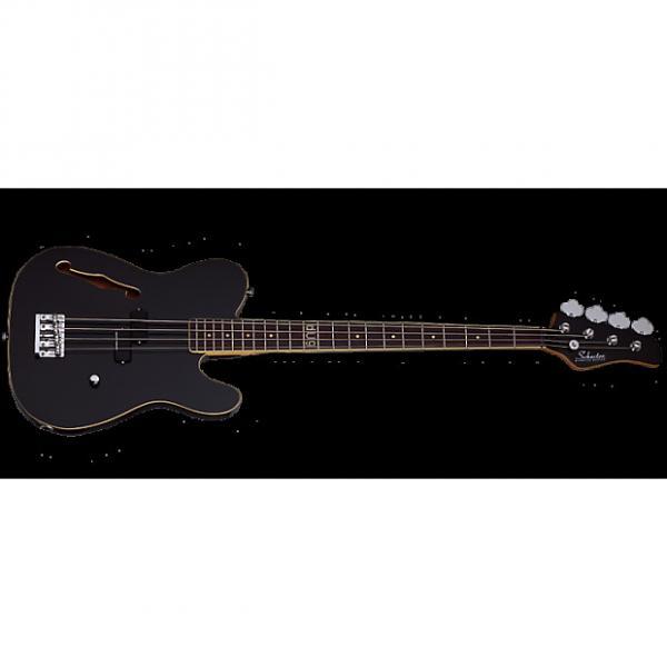 Custom Schecter dUg Pinnick Baron-H Electric Bass Gloss Black #1 image