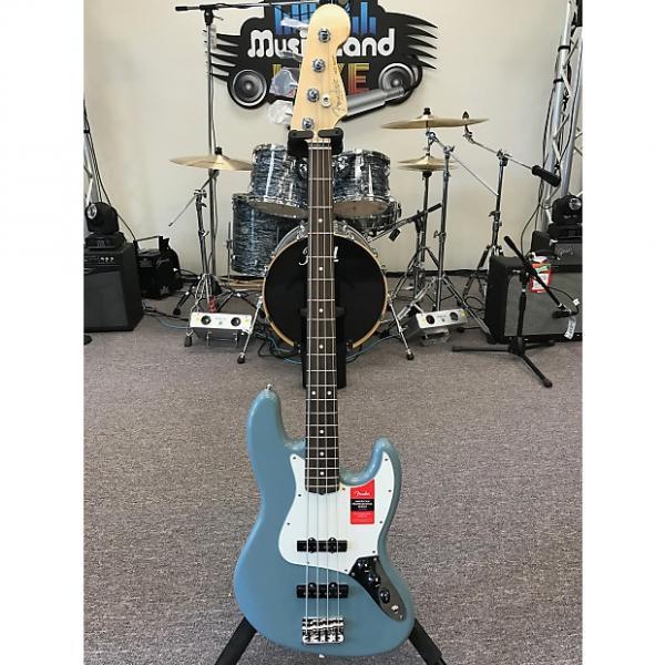 Custom Fender American Professional Jazz Bass 2016 Sonic Grey #1 image