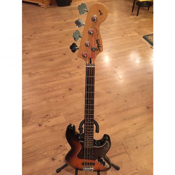 Custom Squier Jazz Bass 1994 Tobacco Sunburst #1 image