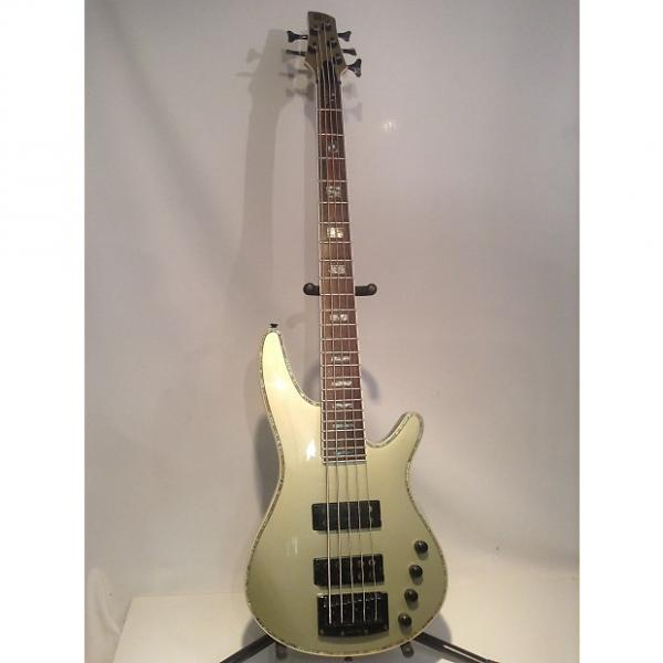 Custom Rare Ibanez SRX475 SoundGear 5 String Active Bass Guitar, Metallic Mint w/ Abalone #1 image