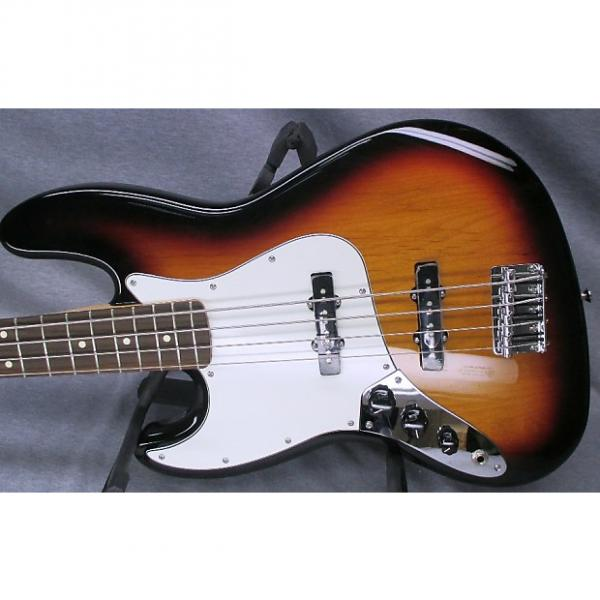 Custom Left Hand Fender MIM Jazz Bass with Hard Case #1 image