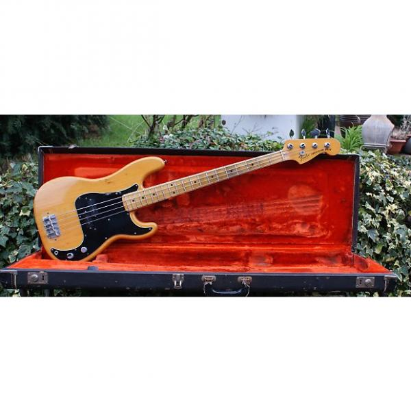 Custom Lovely 1978 Fender Precision Bass In Natural Swamp Ash with Original Hard Case #1 image