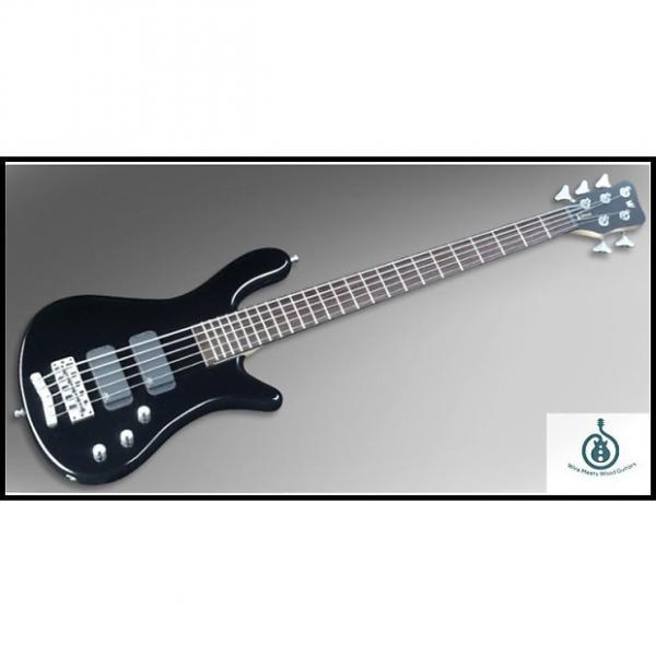 Custom Warwick RockBass Streamer Standard 5 All Passive, Fretted, Maple Neck, Rosewood Fingerboard #1 image
