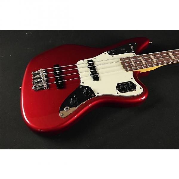 Custom Fender Jaguar Japan Bass Rosewood Fretboard - Candy Apply Red #1 image