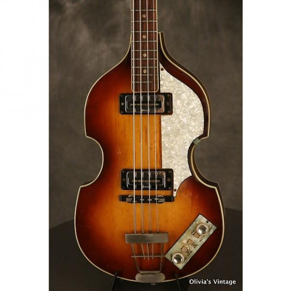 Custom Hofner 500/1 Beatle Bass 1967 Sunburst #1 image