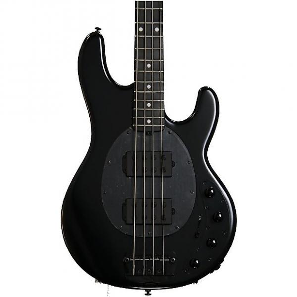 Custom Ernie Ball Music Man StingRay 4 HH - Stealth Black, Ebony Fingerboard #1 image