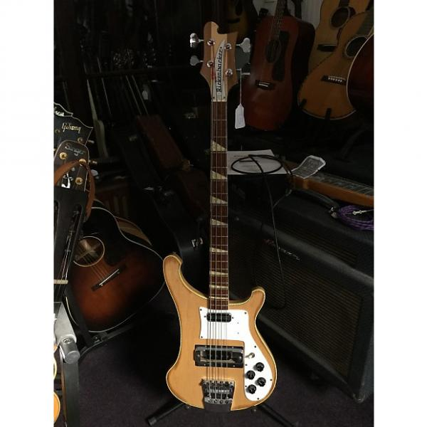 Custom Rickenbacker 4001 Bass Guitar 1972 Mapleglo #1 image