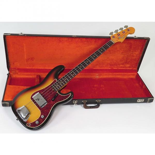 Custom Fender  Precision Bass 1966 Sunburst #1 image