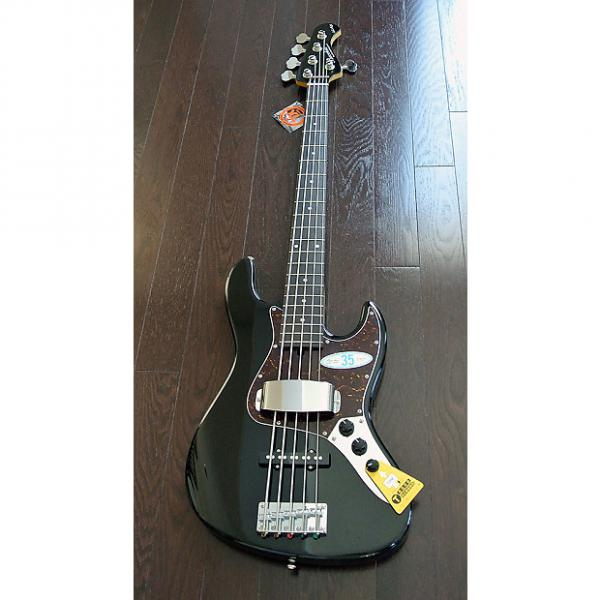 """Custom Bacchus Global Series - WL-535 - 35"""" Scale 5 String Bass - Black Finish - NEW - Authorized Dealer #1 image"""