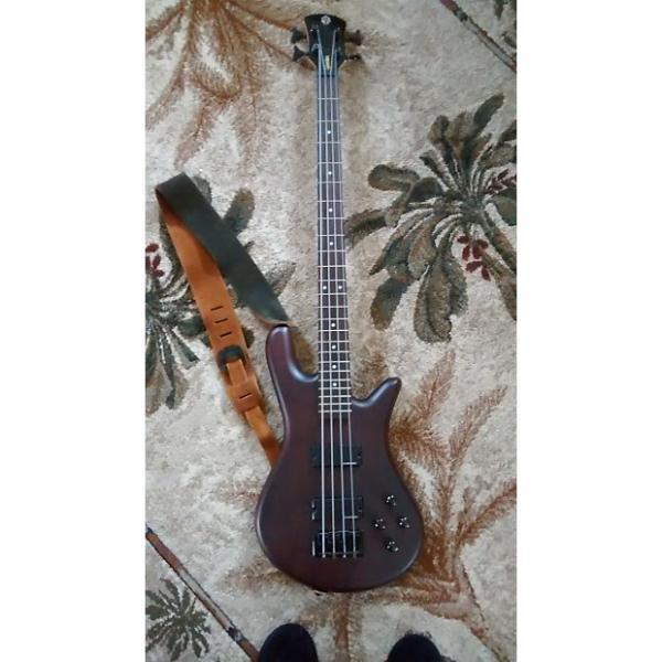 Custom Spector Classic 4-string bass 2005 Matte mahagany brown #1 image