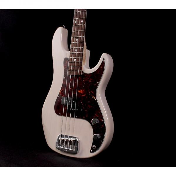 Custom G&L LB-100 Bass Swamp Ash - USA Blonde #1 image